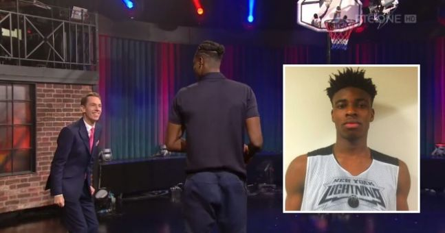 """6' 10"""" 17-Year-Old Irish NBA Prospect Entertains On The Late Late Show   Balls.ie"""