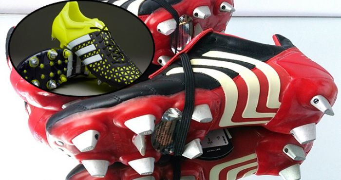 67864e6c5 ... wholesale people are customising new boots to look like old school  predators with stunning results balls