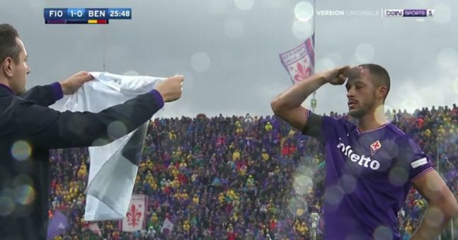 Emotional Scenes As Fiorentina Play First Game Since Death ...