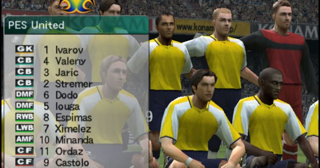 The Default Pro Evo Master League Players - Where Are They