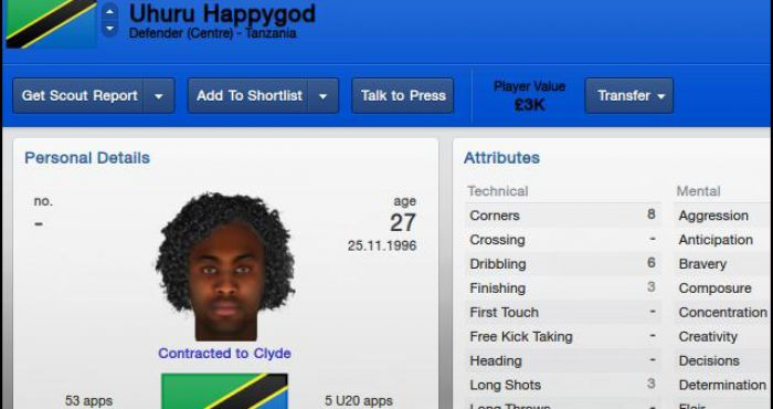 10 Utterly Ridiculous Regen Player Names From FIFA And Football