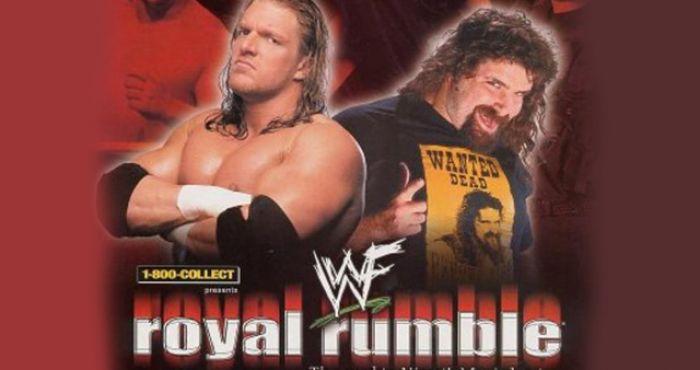 Resultado de imagen para royal rumble 2000 cactus jack vs triple h