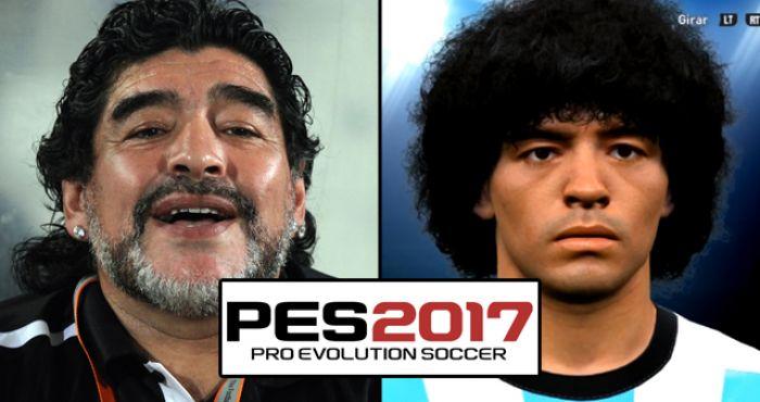 Diego Maradona Announces Plans To Sue Konami Over PES 2017 Likeness ... 58af0a4b09cf6