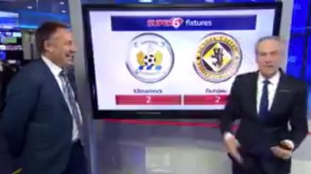 Watch: Paul Merson Gives Comically Honest Prediction For Scottish