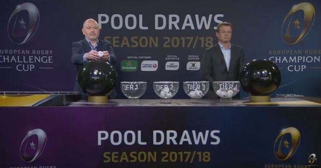 The Draw For The 2017/18 Champions Cup Has Been Made | Balls ie