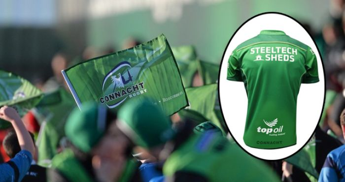 The New Connacht Jersey Has Been Unveiled And It's A Beauty