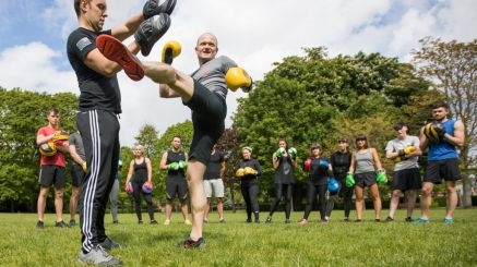 Want To Train With Pro Muay Thai Kickboxers? Now You Can In Parks