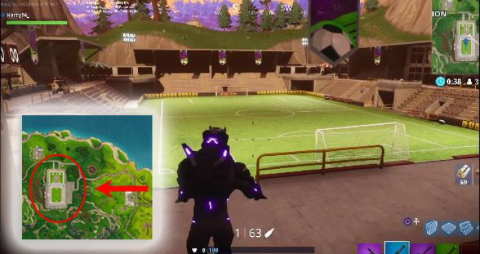 - soccer pitch locations fortnite