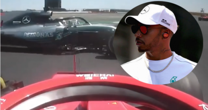 Watch: Lewis Hamilton Accuses 'Cheating' Ferrari Of Driving Him Off